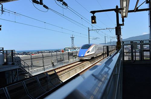 東京方面へ向かう